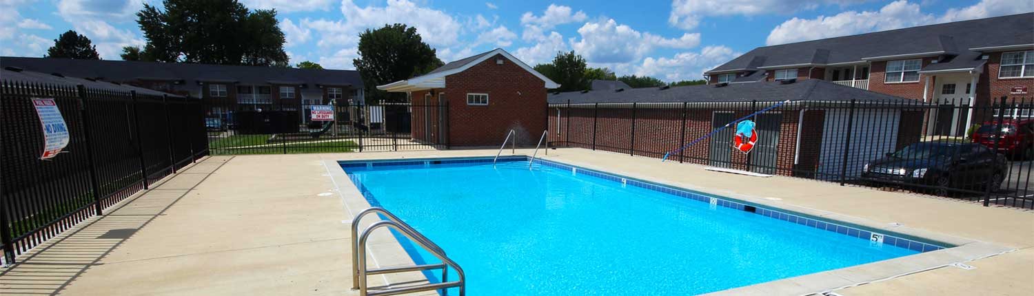 Canterbury House Apartments Community Pool