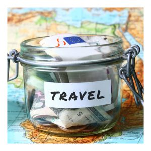 travel jar with money